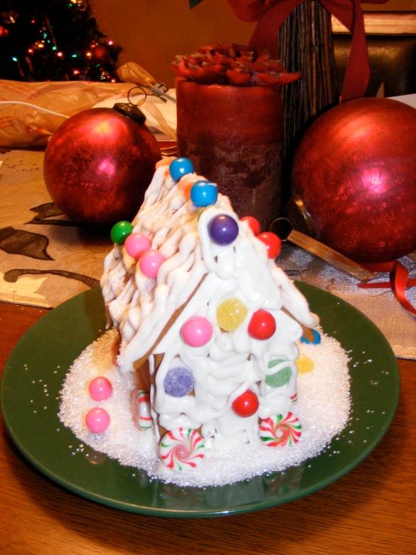 Christmas Ginger Bread House