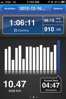 6.5 mile run calgary