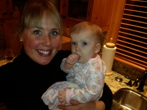 Auntie Kat and Hannah BC 2012