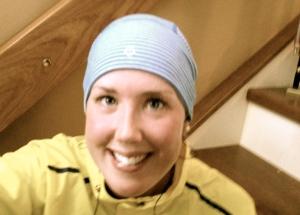 Lululemon hat and rick hansen relay jacket = good run