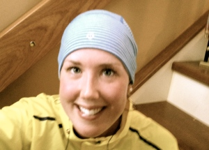 Lululemon hat and rick hansen relay jacket = good run