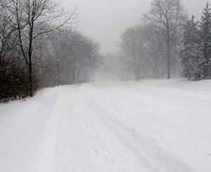 snowy sidewalks.. somewhere