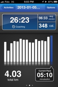 Run Keeper Half Marathon Training