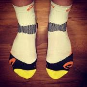 asics best running socks
