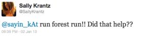 Hilarious Twitter Run Motivation