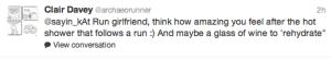 Best motivation for running