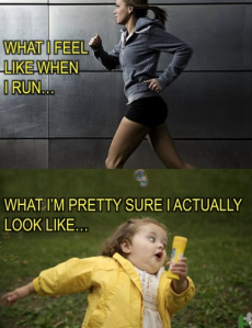 this is what i look like when i run