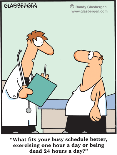 exercise comic