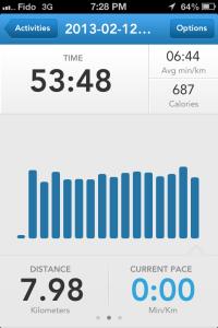runkeeper calgary running