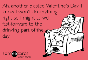 Someecard Valentines Day Card funny