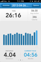 runkeeper hill training