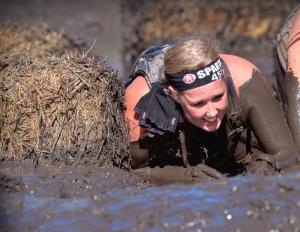 Kat Macaulay Calgary Running Spartan race pregnant